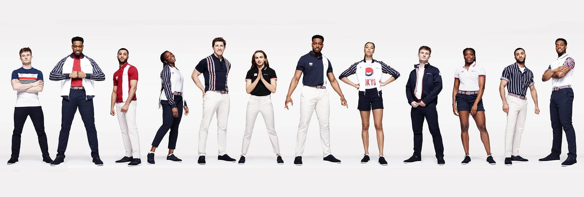 Olympics Team GB Lookbook