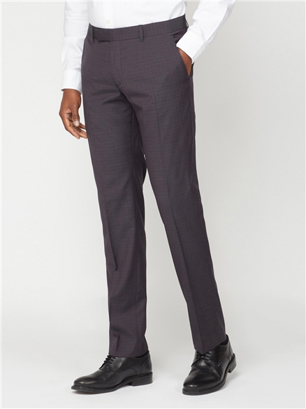 Peacoat Structure Check Trouser