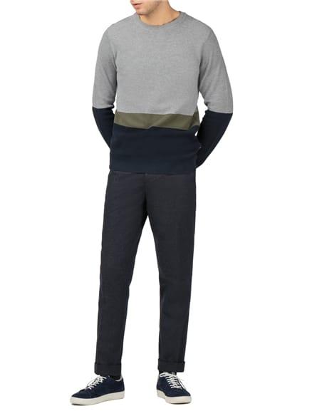 Fleck Fabric Trouser