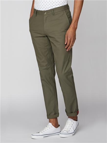 Straight Leg Chino Trousers