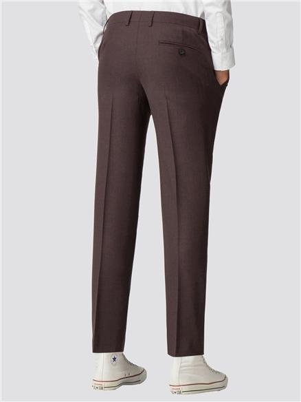 Merlot Plannel Slim Trouser