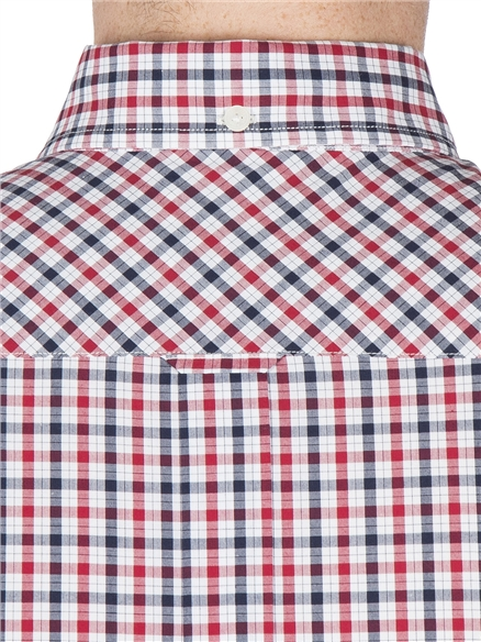 Blue Short Sleeve House Checked Shirt