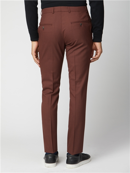 Tobacco Suit Trousers