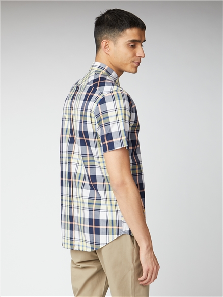 Large Scale Check Shirt