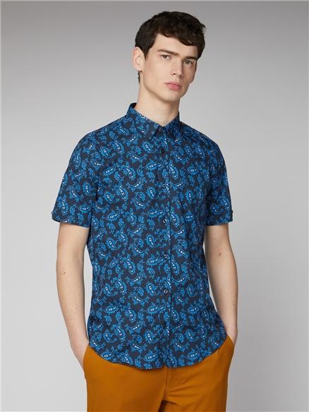 Retro Paisley Shirt