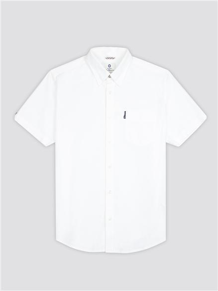 Signature White Button Down Oxford Shirt