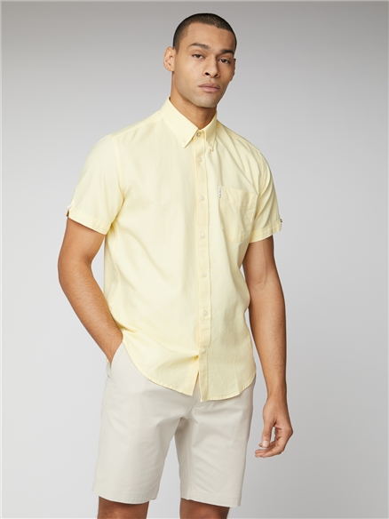Signature Yellow Button Down Oxford Shirt
