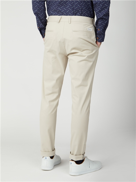Putty Signature Skinny Fit Stretch Cotton Chinos
