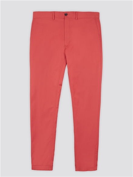 Teracotta Signature Skinny Fit Stretch Cotton Chinos