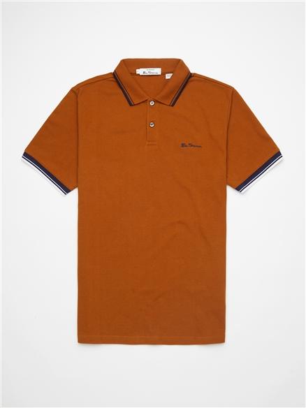 Caramel Signature Polo Shirt
