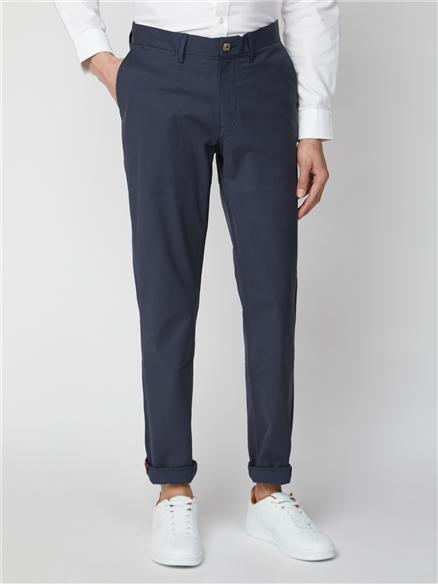 Navy Straight Leg Chino