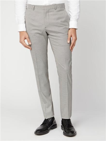 Mustard Puppytooth Slim Fit Suit