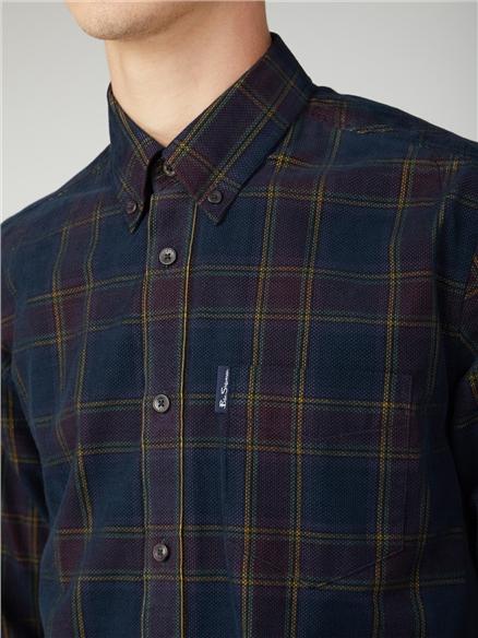 Printed Corduroy Shirt