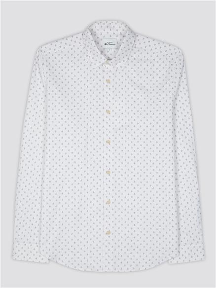 Marl Micro Print Shirt