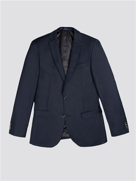 Midnight Structure Tailored Fit Waistcoat