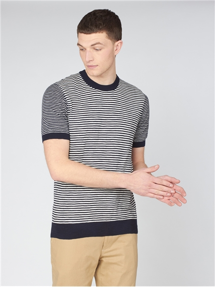 Stripe Knitted Tee