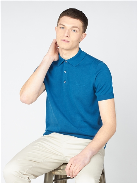 Signature Short Sleeve Knitted Polo