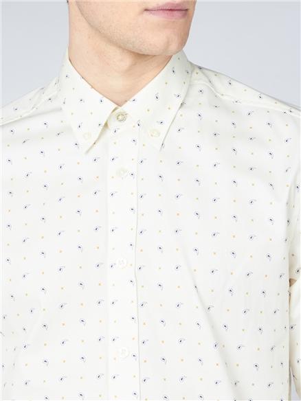 Mini Paisley Print Shirt