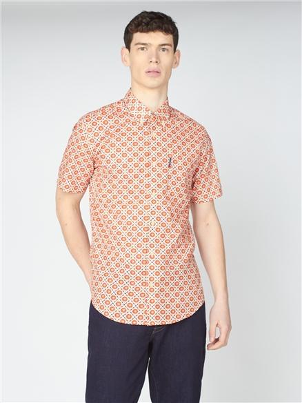 Block Floral Shirt