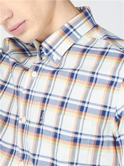 Irregular Check Shirt