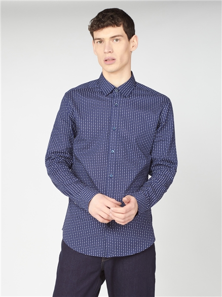 Spot Print Shirt