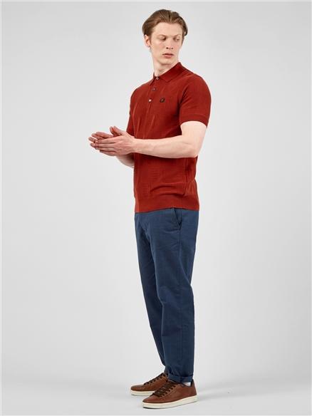 Tonal Check Slim Taper Trouser