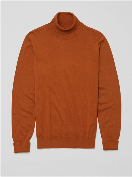 Signature Knitted Roll Neck Jumper