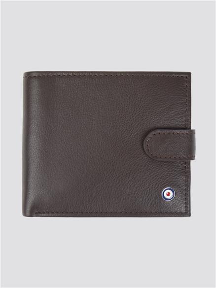 Coin Bifold Wallet - Brown