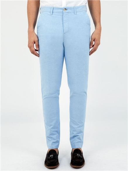 Slim Fit Tailored Oxford Trouser