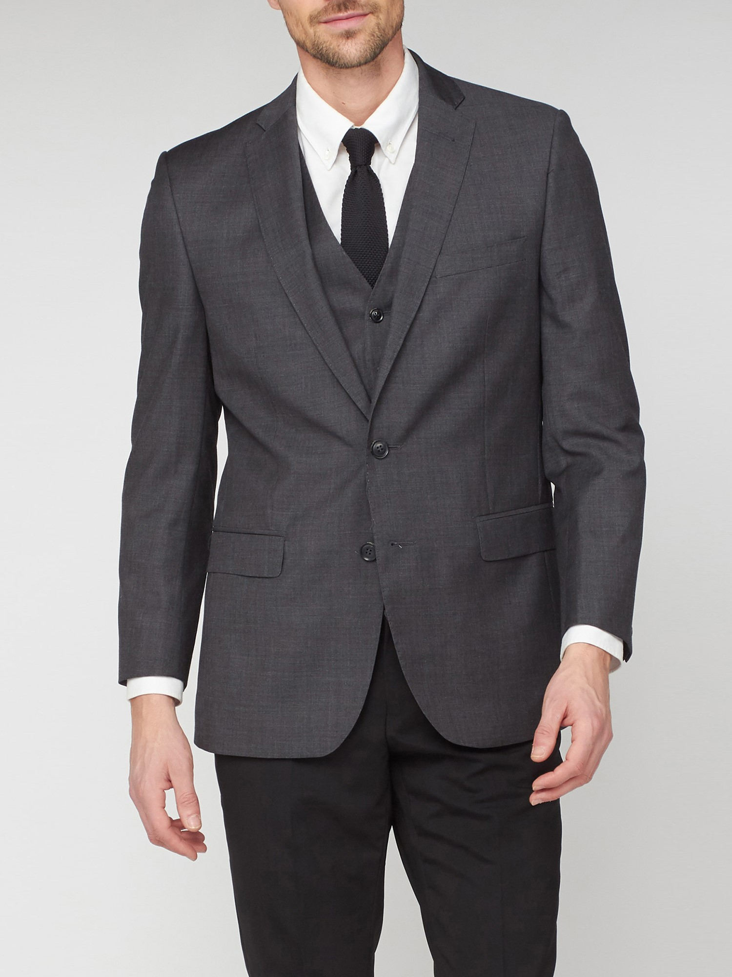 Smoked Pearl Kings Fit Suit