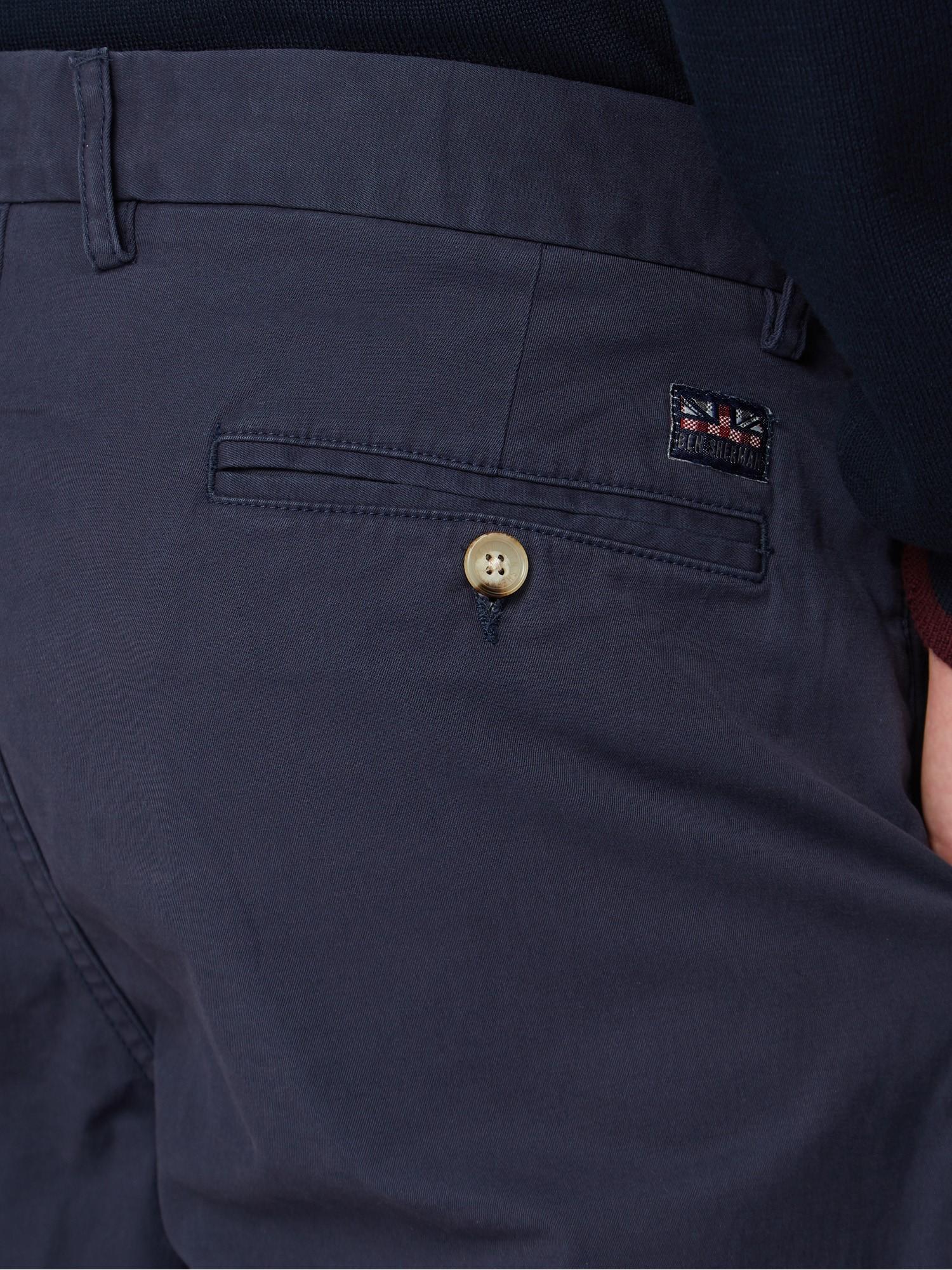Dark Navy Slim Stretch Chino