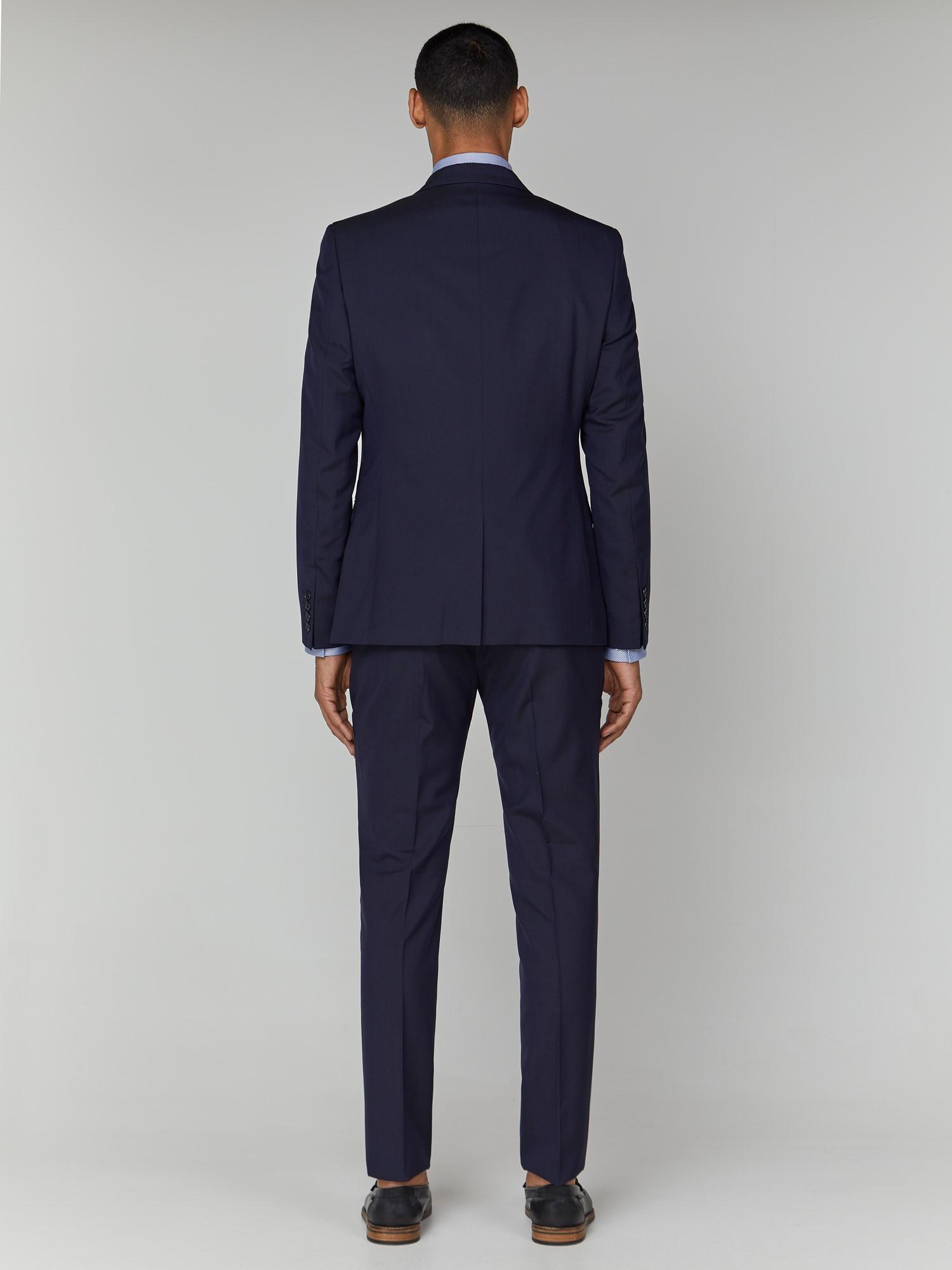 Blue Depths Tonic Camden Fit Trouser