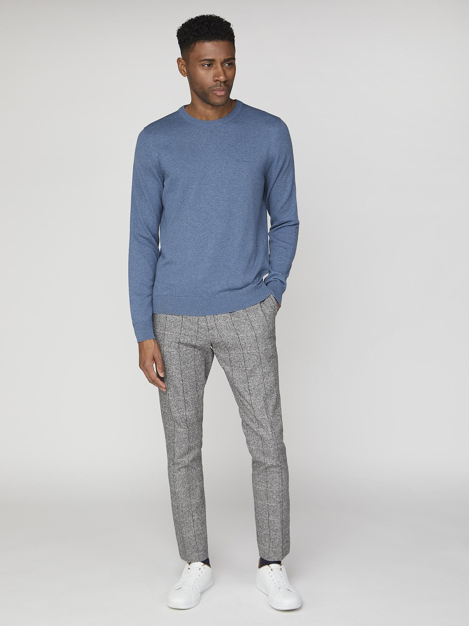 Plain Crew Neck Sweatshirt