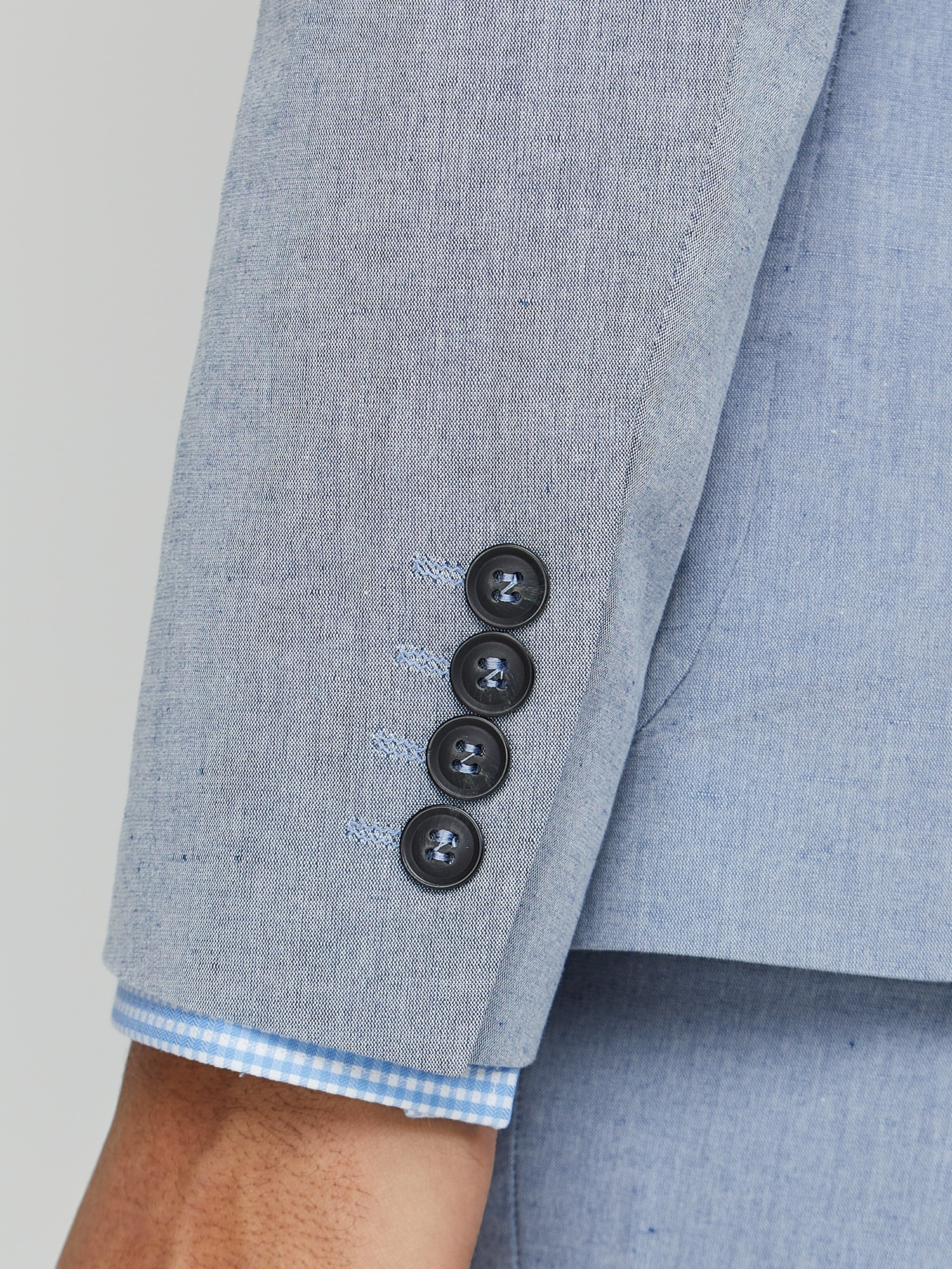 Blue Chambray Camden Suit