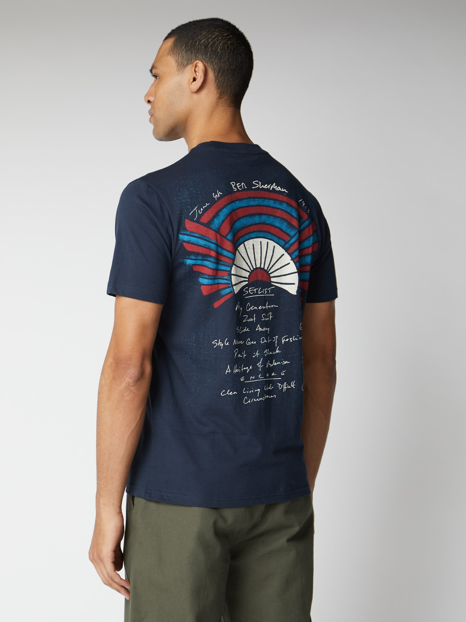 Live At Sherman's Print T-Shirt