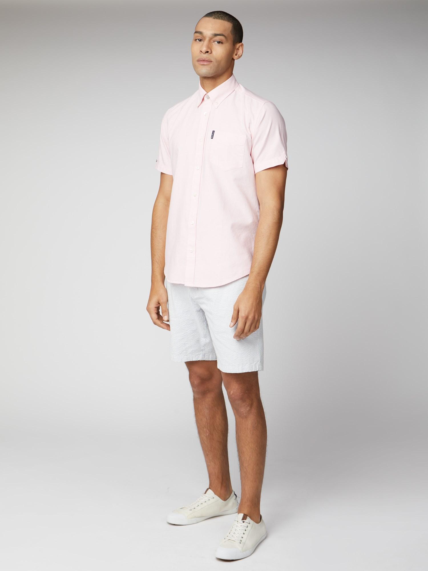 Signature Light Pink Button Down Oxford Shirt