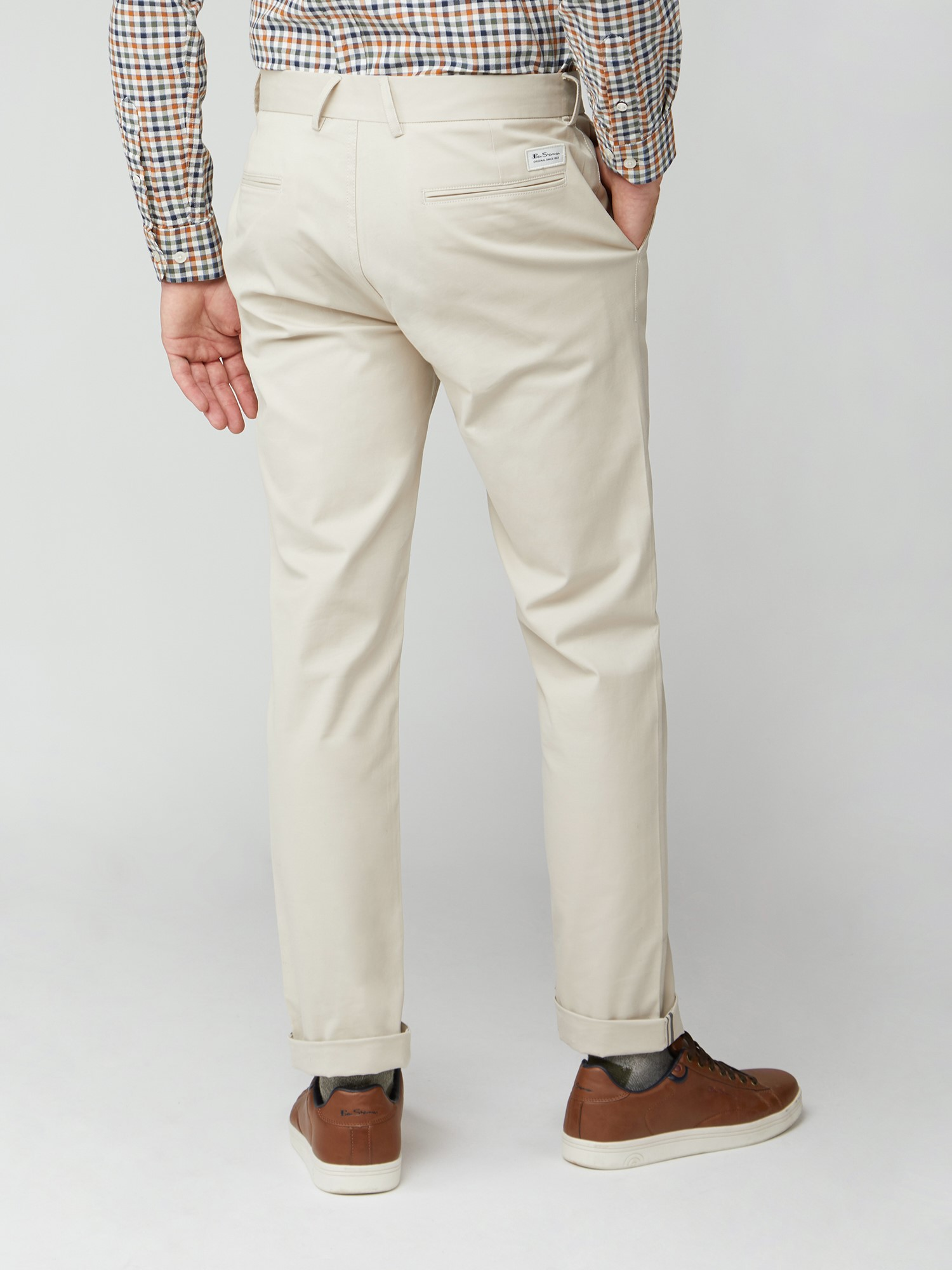 Putty Slim Stretch Cotton Chinos