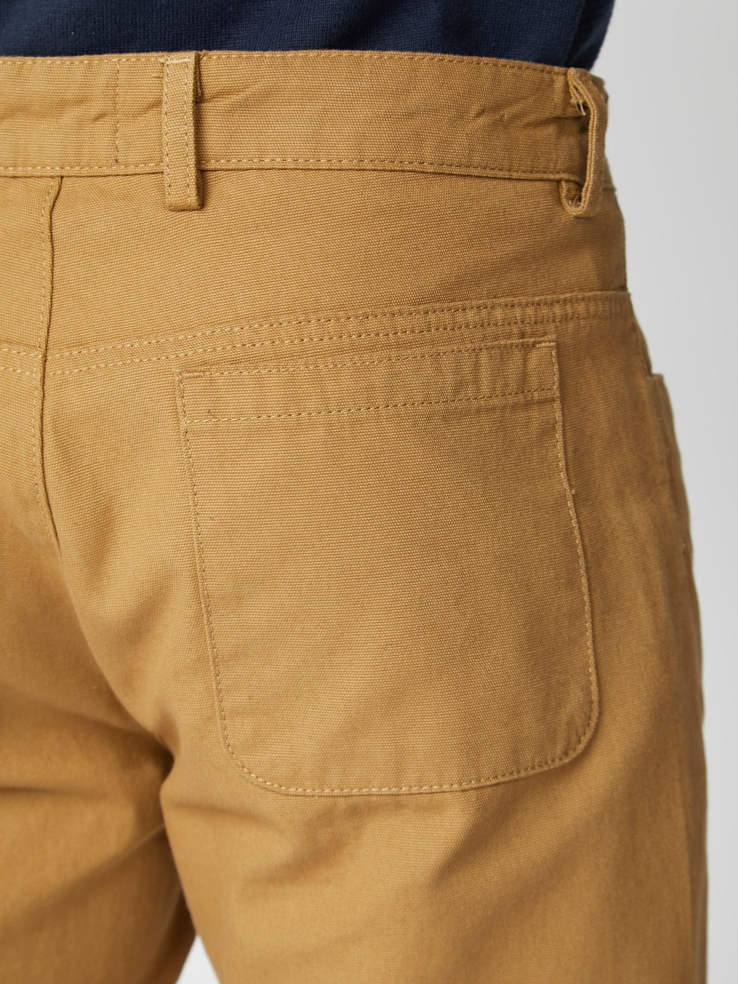 Plain Canvas Shorts