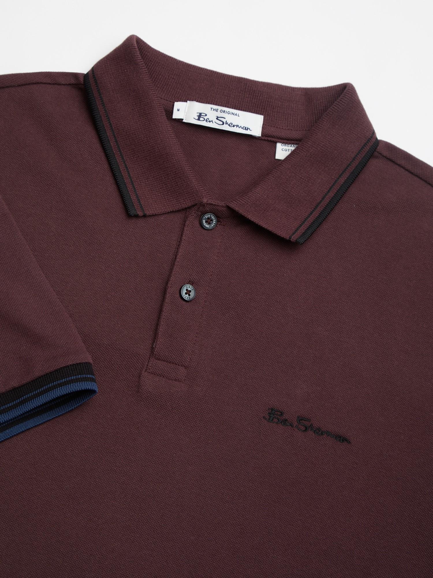 Bordeaux Signature Polo Shirt