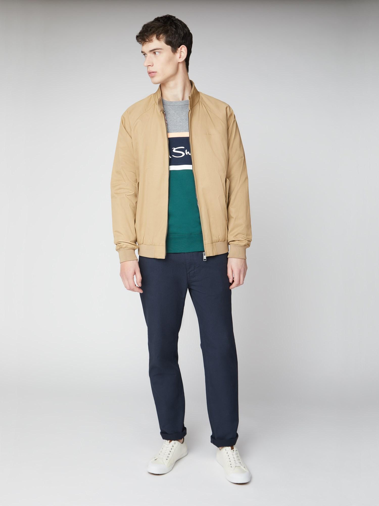 Colour Blocked Logo Sweatshirt