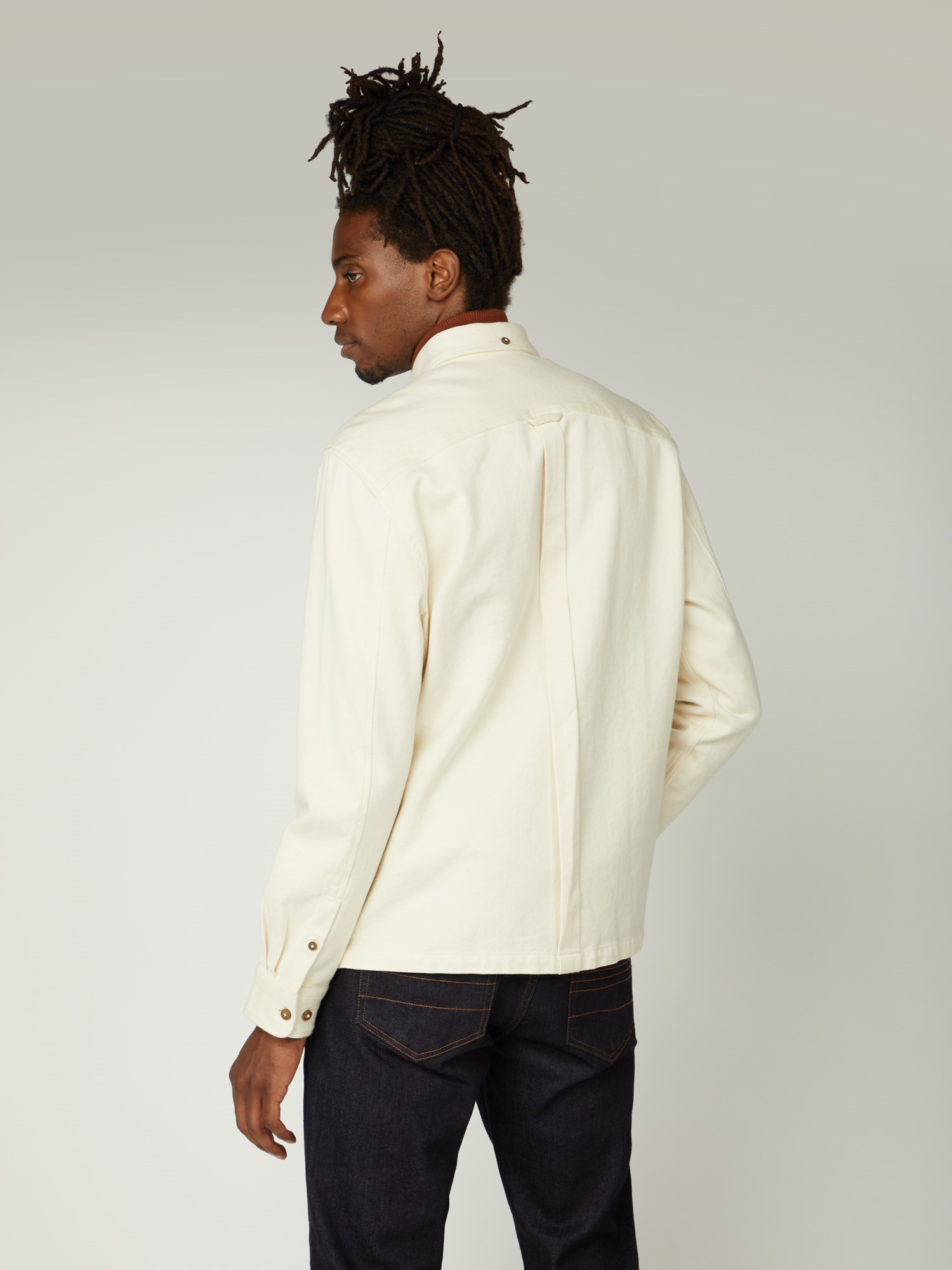 Raw Cotton Chore Jacket