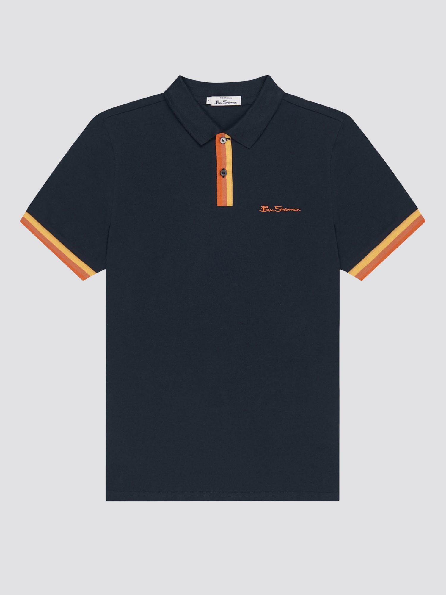 Placket Interest Polo Shirt