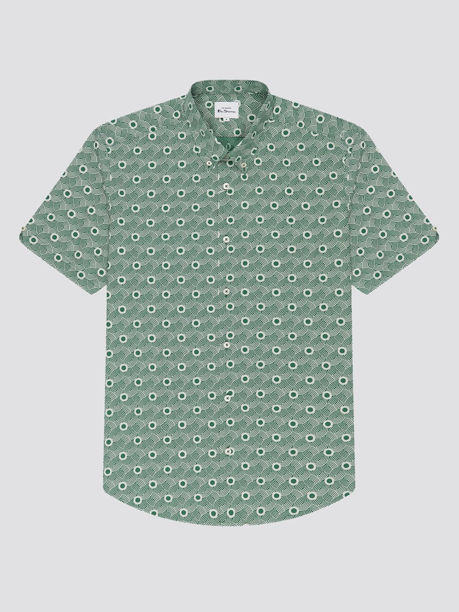 Retro Print Shirt