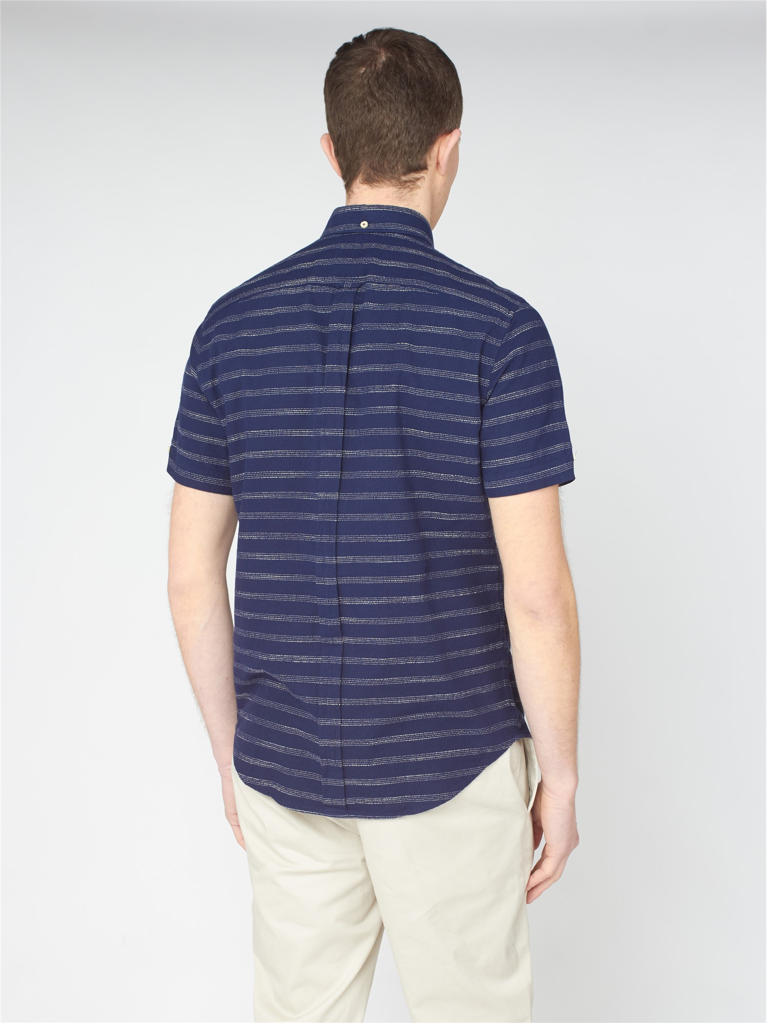 Texture Striped Shirt