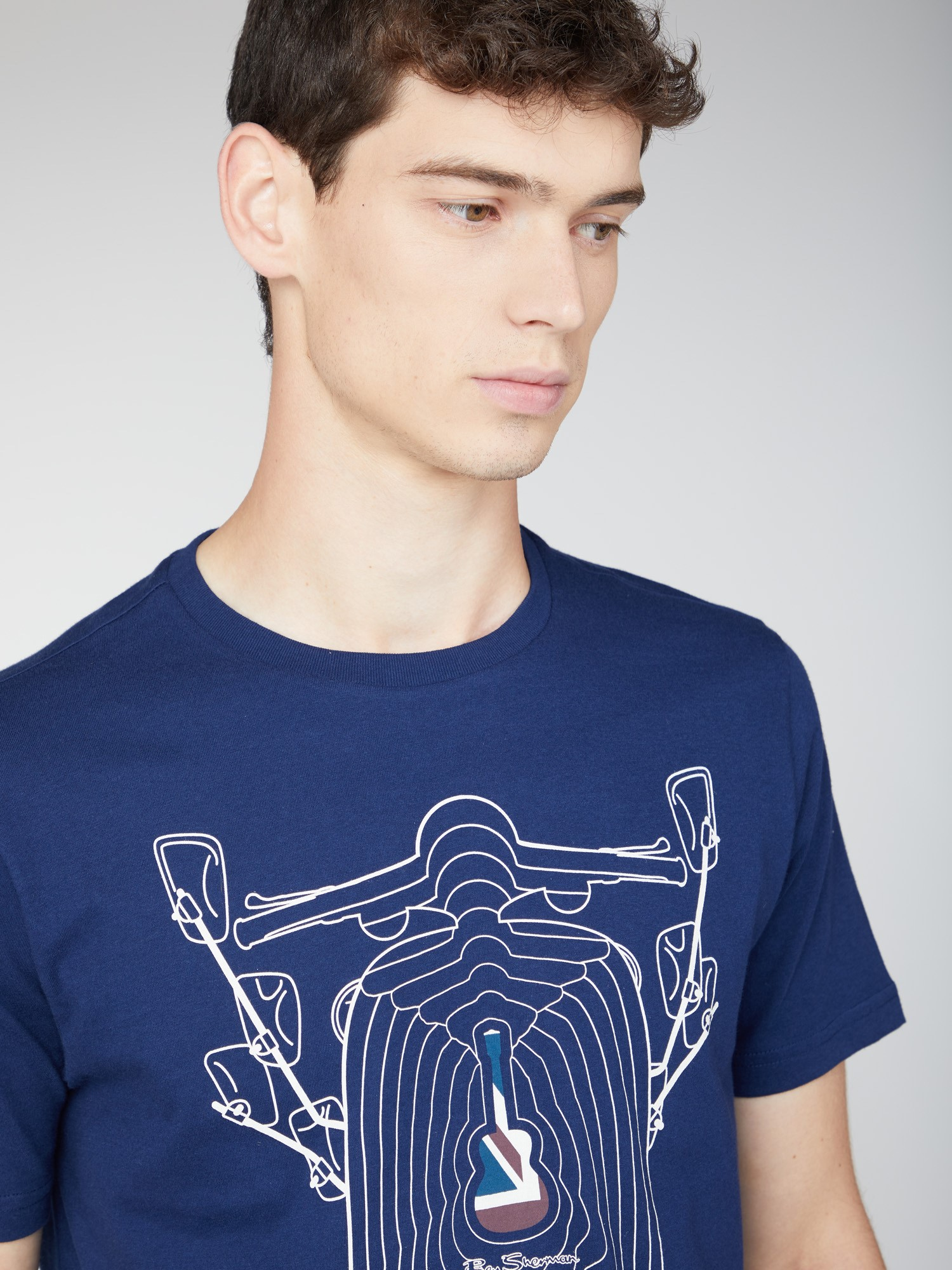 Scooter Echo Graphic Tee
