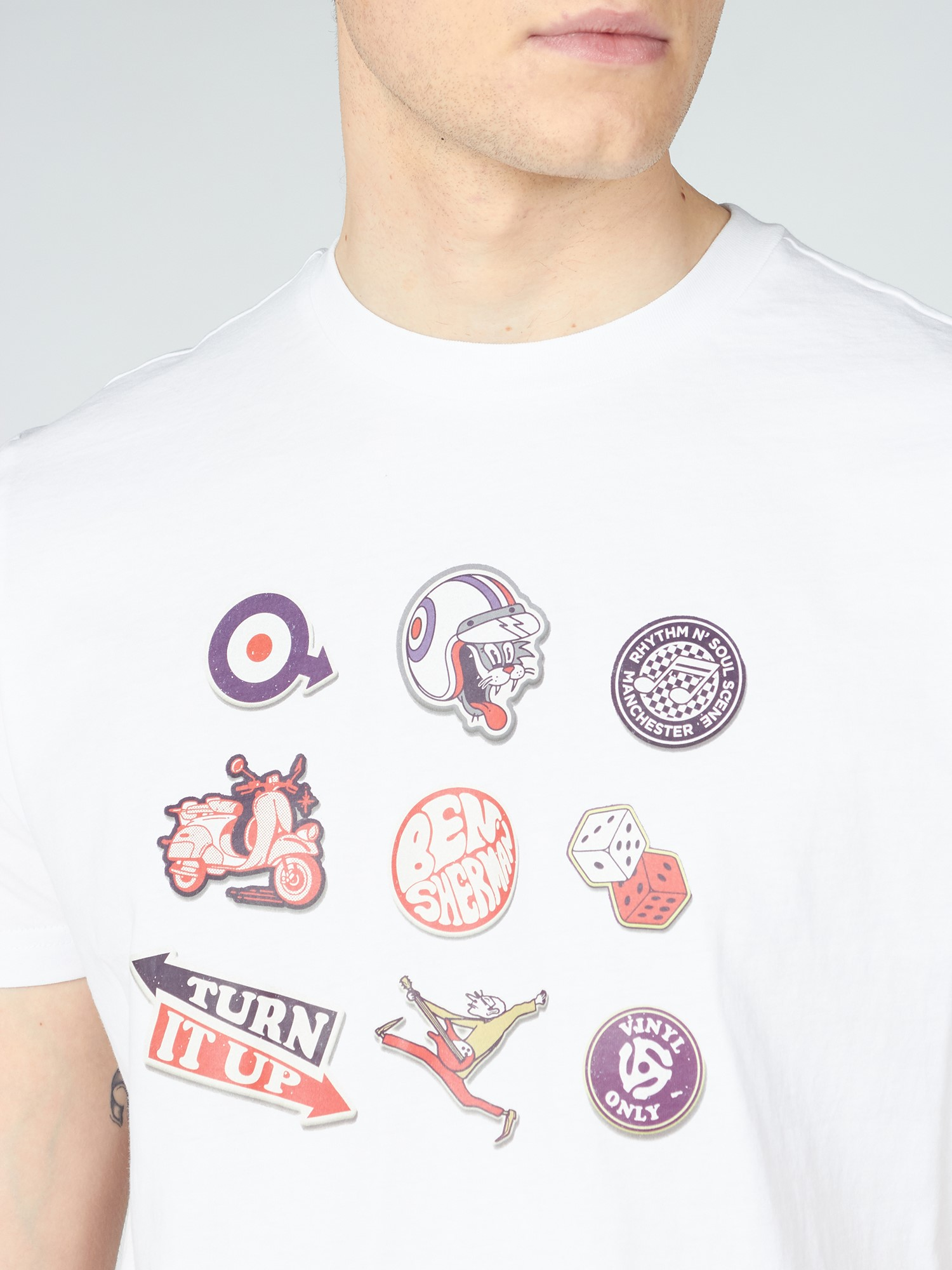 Sticker Pack Tee