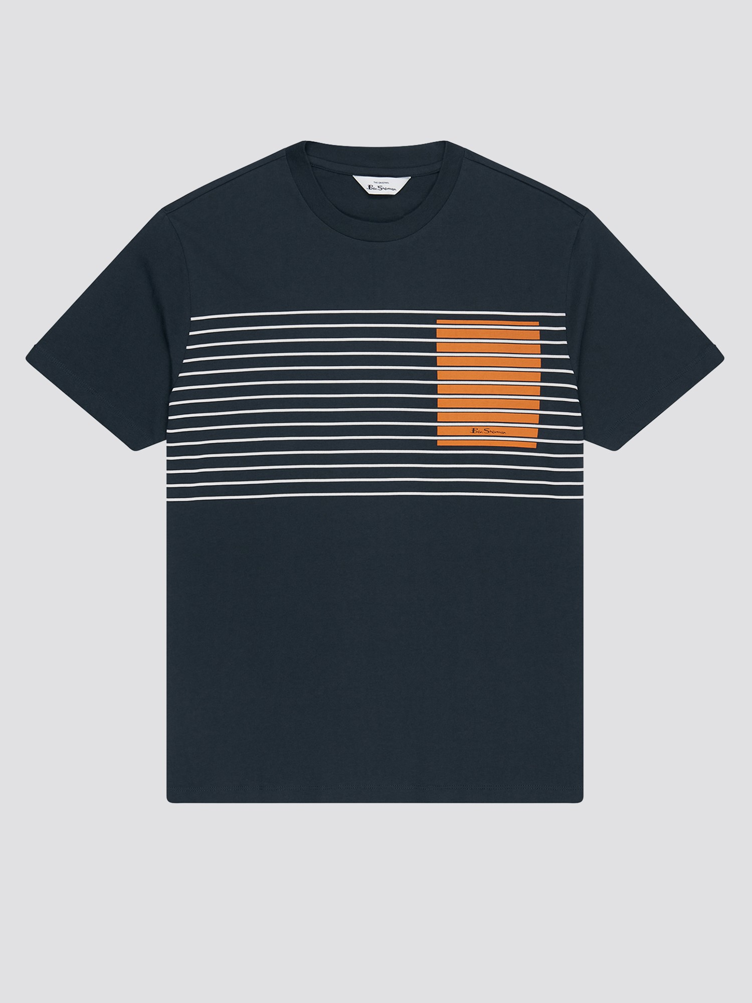 Colour Block Stripe Tee