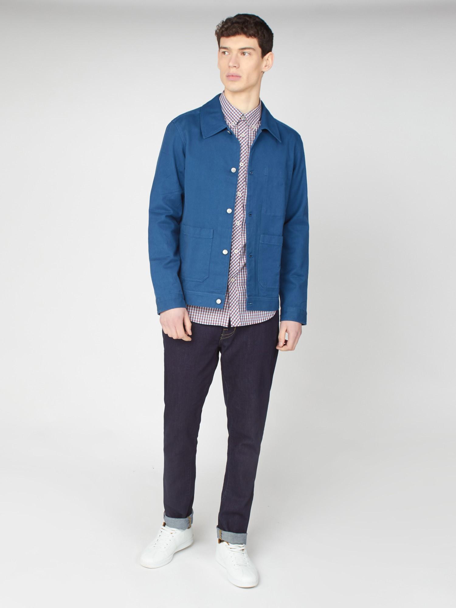Summer Trucker Shirt Jacket