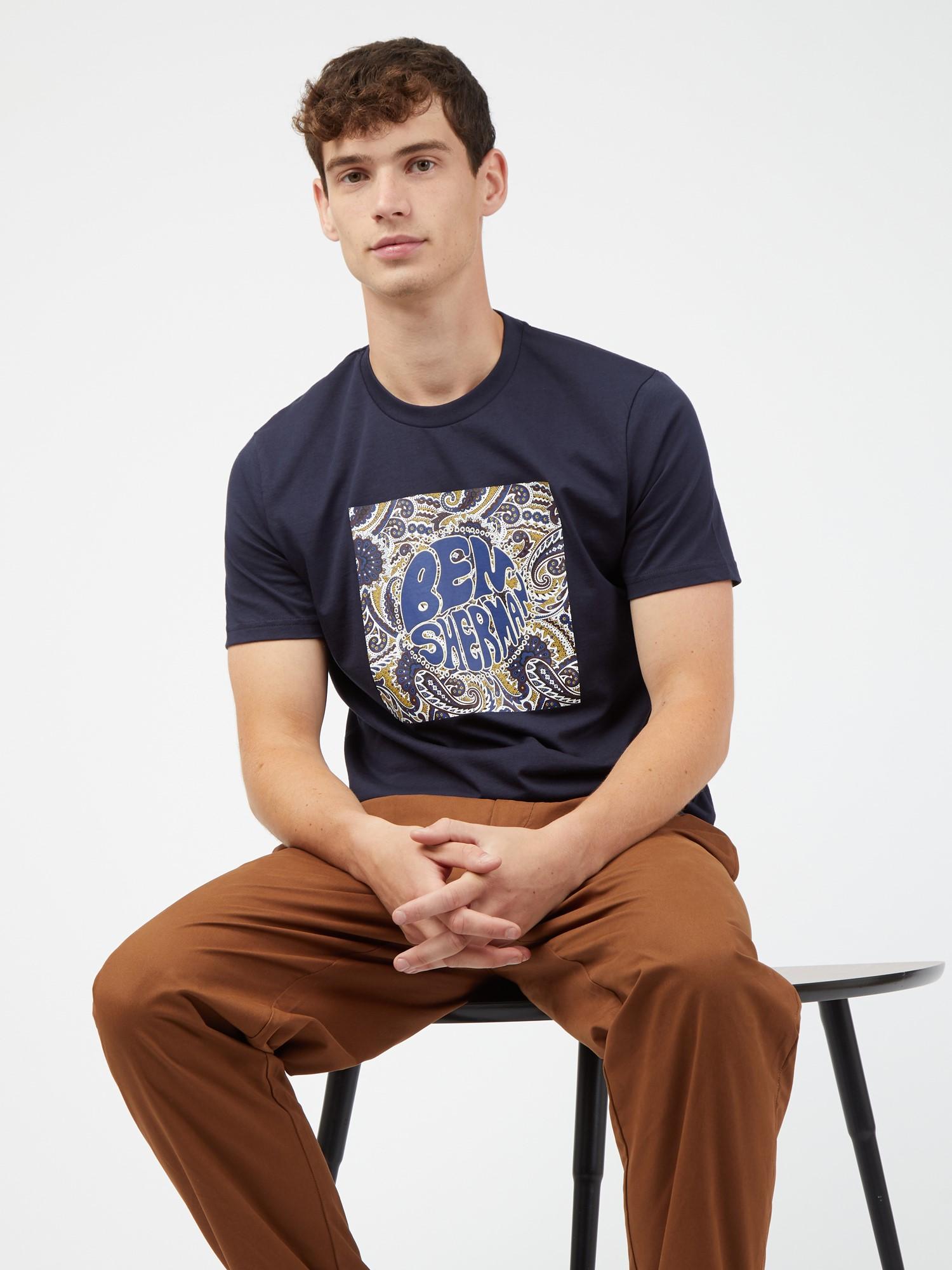 Paisley Logo T-Shirt
