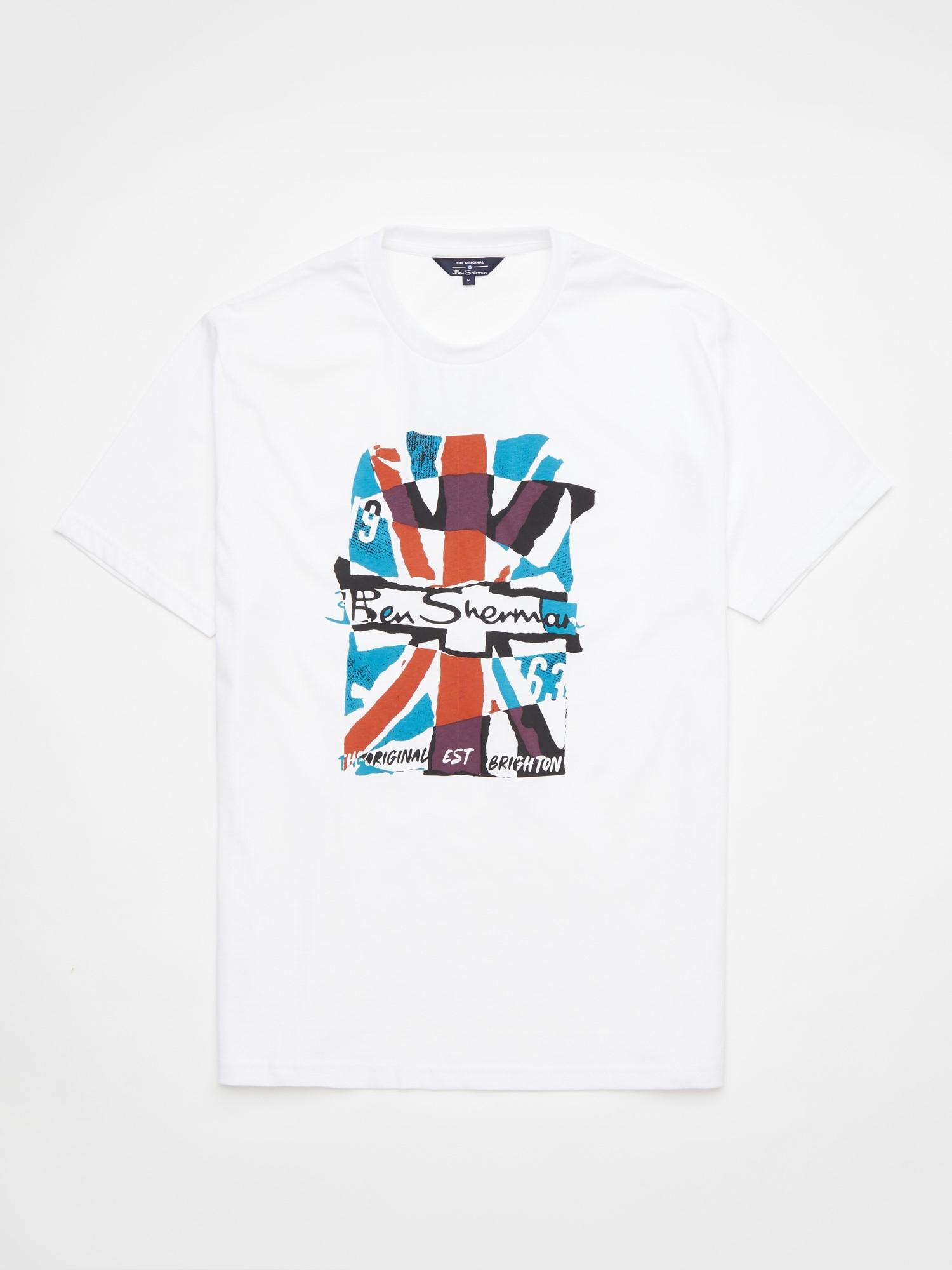 Collage Union Jack Graphic Tee